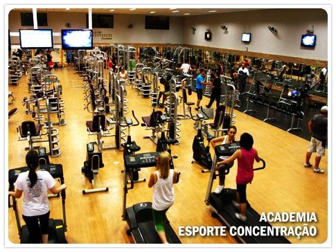 Academia Esporte Concentração